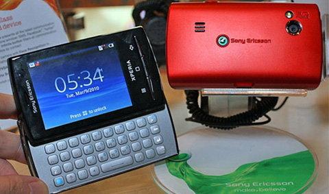 Sony Ericsson X10 mini เปิดตัวเป็นทางการแล้ว