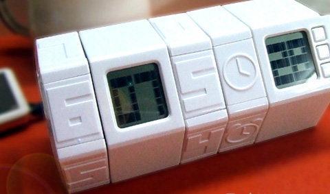 TWIST DESKTOP DIGITAL ALARM CLOCK นาฬิกาปลุกลับสมอง