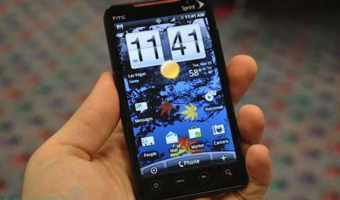 HTC Evo 4G แอนดรอยด์ ขั้นเทพจริงๆ