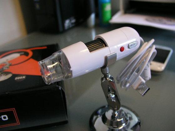ทดสอบลองเล่นๆ กับกล้องจุลทรรศน์ USB ราคาพันกว่าบาท