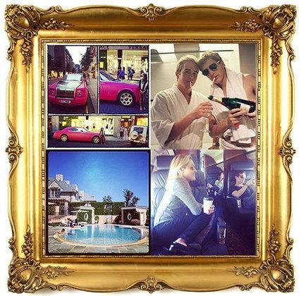 รวมภาพ Instagram อวดรวยจากวัยรุ่นพันล้าน