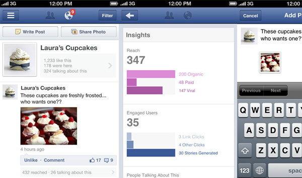 Facebook ปล่อย Pages Manager แอพพลิเคชั่นจัดการหน้าแฟนเพจ บน ไอโฟน (iPhone)