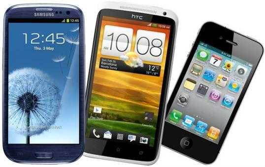 สมาร์ทโฟน Android, iPhone ครองโลก
