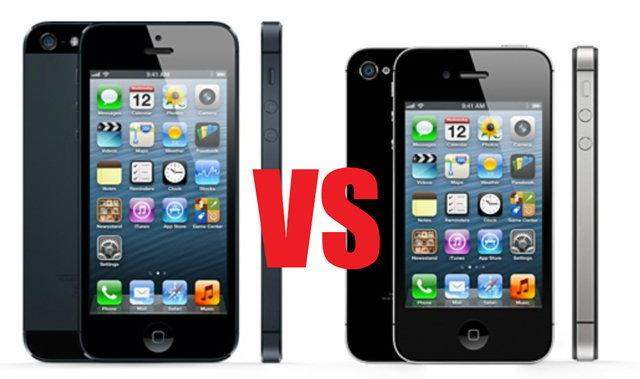 เปรียบเทียบ iPhone 5 VS. iPhone 4S แตกต่างกันอย่างไร ซื้อตัวไหนดี ที่นี่มีคำตอบ!