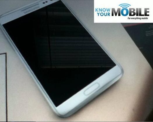 ภาพหลุด Galaxy Note 2 พร้อมคลิป...