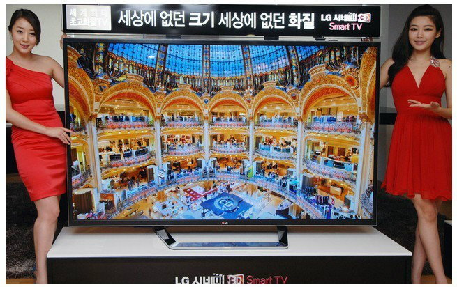 ทีวี 4K ของ LG ขนาด 84 นิ้วเริ่มวางขายแล้วในเกาหลีใต้