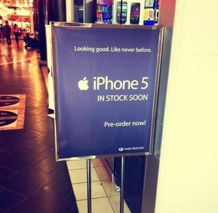 แคนาดาตามจีน, เยอรมันเปิดจอง iPhone 5 ล่วงหน้าอย่างไว!