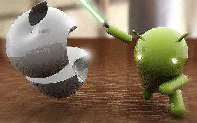 Google ลั่น Android ชนะ iOS แล้ว!!!