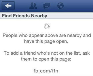 แอพใหม่ Facebook หาเพื่อนได้ง่ายขึ้น
