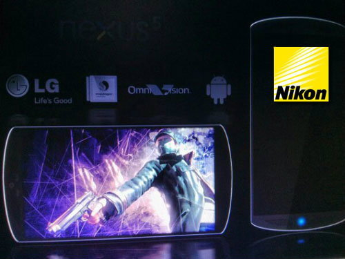Nexus 5 จะมาพร้อมกล้องแบบ Nikon