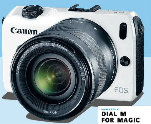 CANON EOS M {DIAL M FOR MAGIC}
