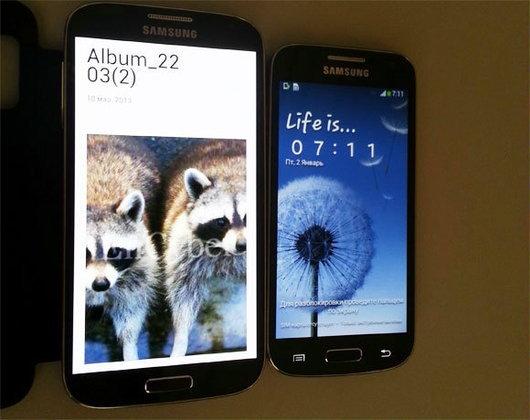 ภาพหลุด Samsung Galaxy S4 (S IV) Mini