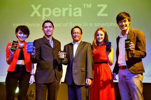 Sony เปิดตัว Xperia Z ในประเทศไทยแล้ว