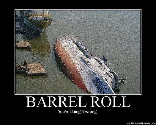 """ลองยัง """"Do a barrel roll"""" ลูกเล่นใหม่ใน Google"""