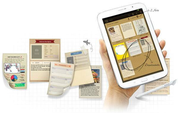 แนะนำทำความรู้จักกับ Samsung Galaxy Note 8.0