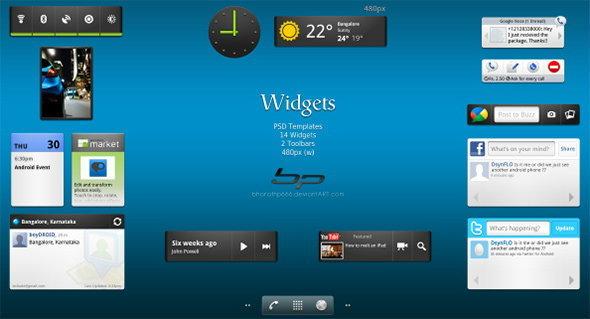 10 Widgets สุดเจ๋ง ที่น่าลอง บนสมาร์ทโฟน แอนดรอยด์ ของคุณ
