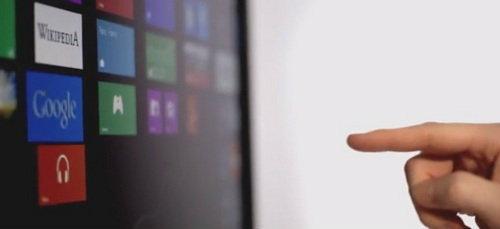 Windows 8 แค่ชี้นิ้วก็สั่งงานได้