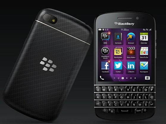 [รีวิว] BlackBerry Q10 สมาร์ทโฟนพร้อมคีย์บอร์ด QWERTY ที่คุ้นเคย