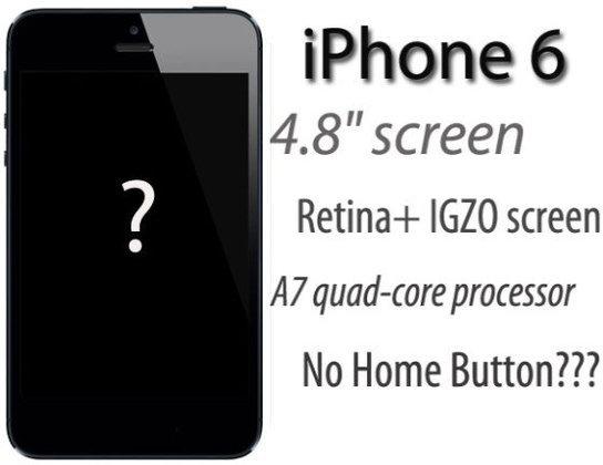 """iPhone 6 จอ 4.8"""" คาดเปิดตัวต้นปีหน้า!"""