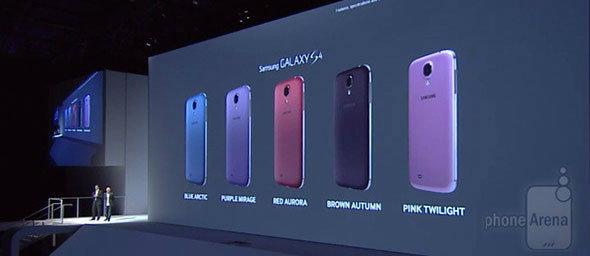 ซัมซุงเปิดตัว Samsung Galaxy S4 สีใหม่เพิ่มอีก 5 สี