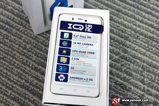 รีวิว i-mobile IQ X2 สมาร์ทโฟน  2 ซิม ฟีเจอร์ครบครัน ในราคาย่อมเยา