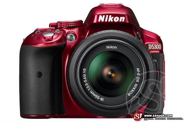 Nikon เปิดตัว D5300 พร้อมเลนส์ใหม่หนึ่งตัวใหม่ล่าสุด