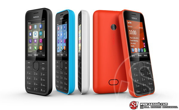 Nokia 208 โทรศัพท์มือถือ 3G ราคาประหยัด วางขายแล้ว