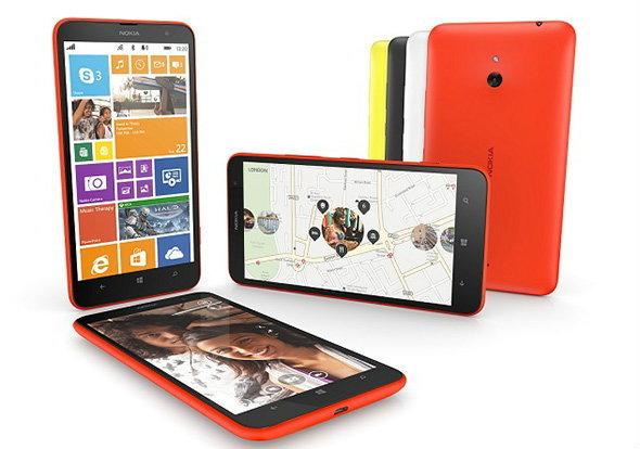 เปิดตัว Nokia Lumia 1320 วินโดวส์โฟน จอ 6 นิ้ว กล้อง 5 ล้าน