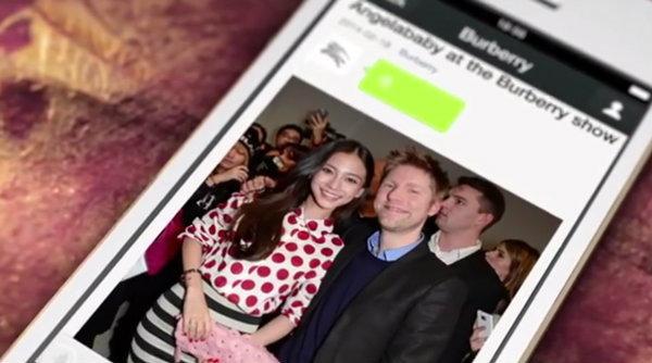 อือฮา!! BURBERRY ถ่ายทอดงานแฟชั่นวีคที่ลอนดอนผ่านแอพ WeChat (ชมคลิป)