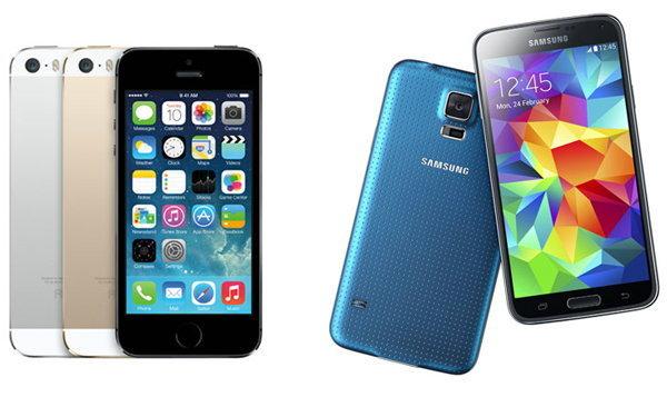 8 ข้อที่ Samsung Galaxy S5 ดีกว่า iPhone 5s