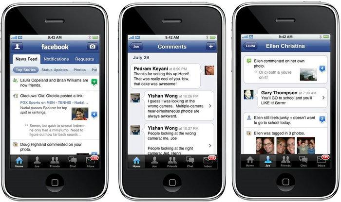 Facebook ครองแชมป์แอพยอดนิยมบน Smartphone