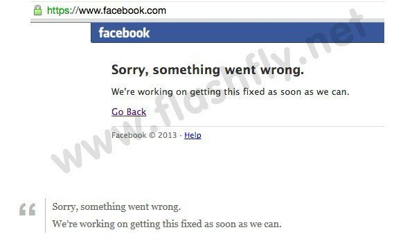 สาวกสุดเซ็ง!! Facebook ล่มหลายประเทศทั่วโลก รวมทั้งไทยเป็นเวลาเกือบครึ่งชั่วโมง