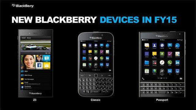 อวดโฉม BlackBerry  2 รุ่นใหม่ ที่หมายถึงอนาคต