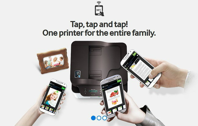 Samsung เปิดตัว NFC Printer