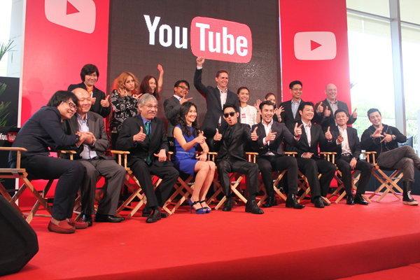 คนดังตบเท้าร่วมงานเปิดตัว YouTube ไทยอย่างเป็นทางการ
