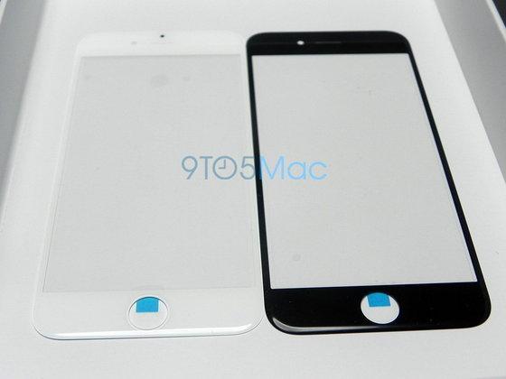 ภาพชิ้นส่วนหน้าจอ iPhone 6 สีขาวและสีดำ?
