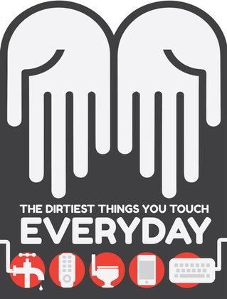 10 สิ่งสกปรกที่คุณสัมผัสในทุกวัน!