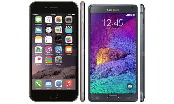 Note 4 vs iPhone 6 Plus มือถือหน้าจอใหญ่ รุ่นไหนเหนือกว่ากัน ?
