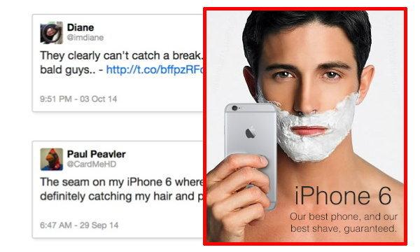 iPhone 6 ทำขน(ผม)หลุด!!
