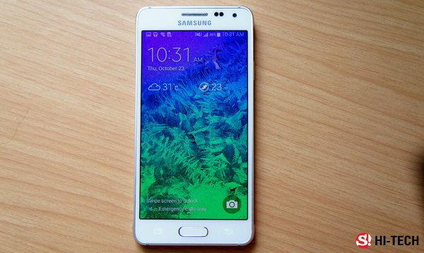 แกะกล่องลองเล่น Galaxy Alpha สมาร์ทโฟนดีไซน์สวยจากซัมซุง