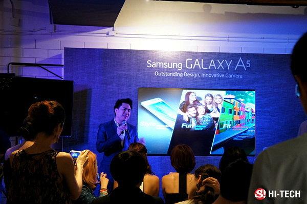 ซัมซุงไทยเปิดตัว Samsung Galaxy A5 โลหะทั้งเครื่องอย่างเป็นทางการ