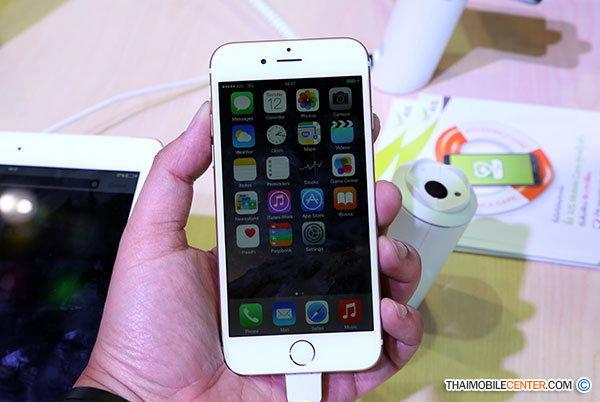 สำรวจราคาและโปรโมชั่น iPhone 6 ในงาน TME 2015