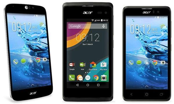 MWC 2015 : Acer เปิดตัว Liquid Z และ Liquid Jade Z สมาร์ทโฟนรุ่นใหม่