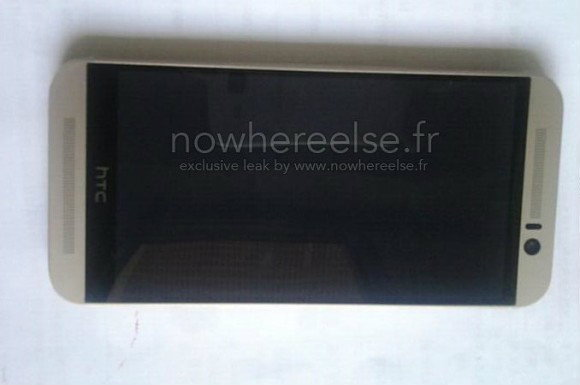หลุดจนได้ เผยภาพตัวเครื่อง HTC One M9 แบบเต็มๆ