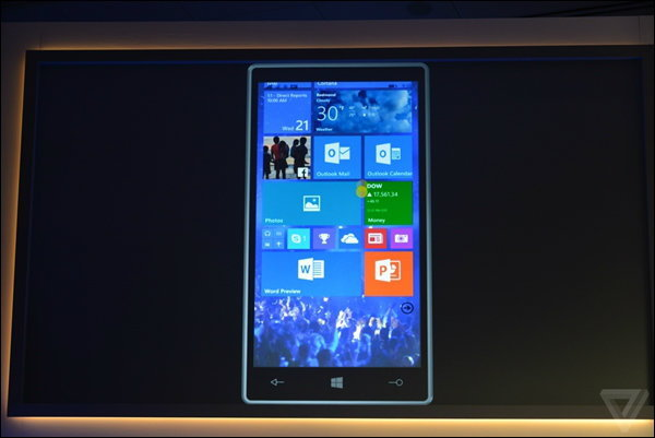 ไมโครซอฟท์เผย Windows 10 บนมือถือ และ Office รุ่นใหม่บนมือถือ