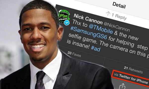 """จับผิด """"นิก แคนนอน"""" ปล่อยไก่เมื่อชื่นชม Galaxy S6 ผ่าน iPhone"""
