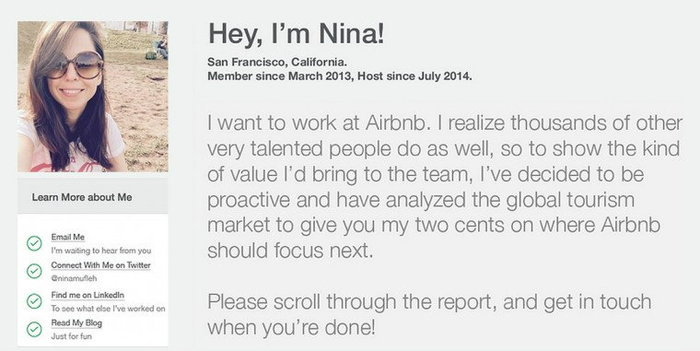 สุดยอดเรซูเม่เพื่องานในฝันที่ Airbnb เจ๋งจนซีอีโอต้องเรียกสัมภาษณ์ด่วน!