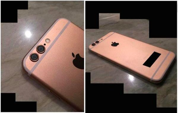 จริงหรือมั่ว! โผล่ภาพ iPhone 6s สีโรสโกลด์ กล้องหลังคู่