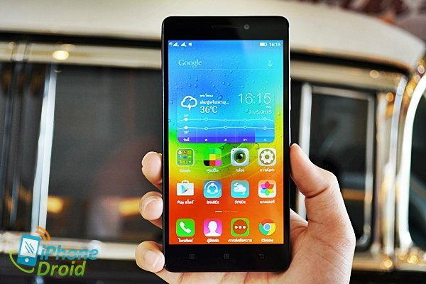 รีวิว Lenovo A7000 สมาร์ทโฟนสเปคดีราคาประหยัด