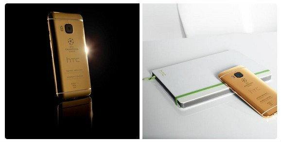 ร้องไห้หนักมาก! ถ่ายรูปโปรโมท HTC One M9 รุ่นทองคำ แต่ใช้ iPhone ถ่ายซะงั้น